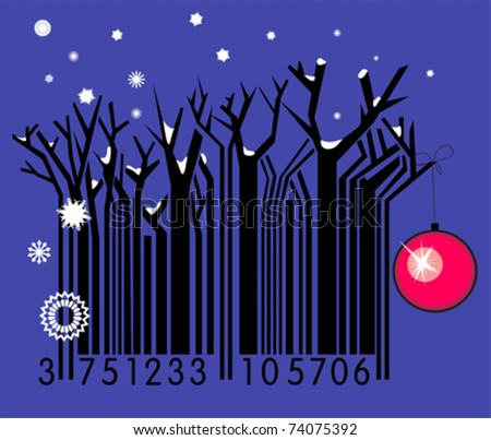 Winter barcode