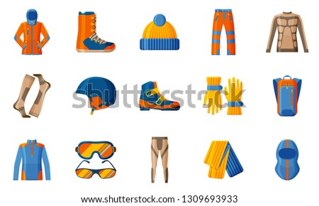 c23cf3f905a0 Free Ski Accessories Vector Icons - Download Free Vector Art
