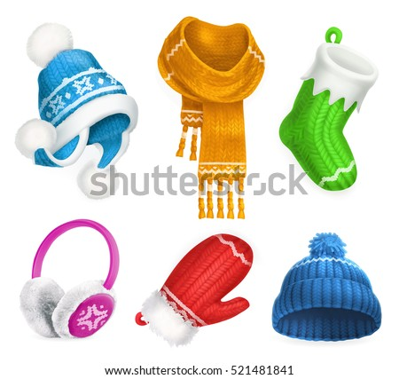winter clothes knitted hat