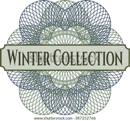 Winter Collection linear rosette