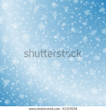Winter decoration background