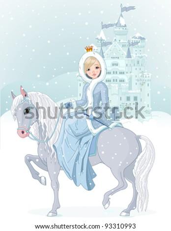 winter design of beautiful