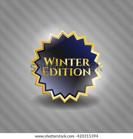 Winter Edition golden emblem