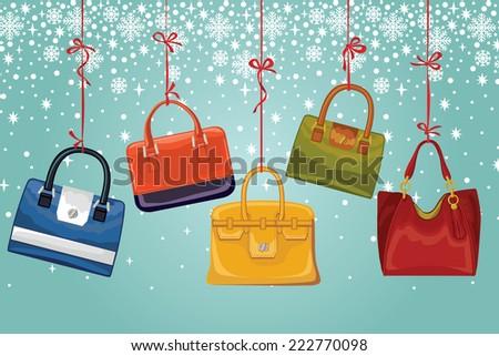 winter fashion setcolorful