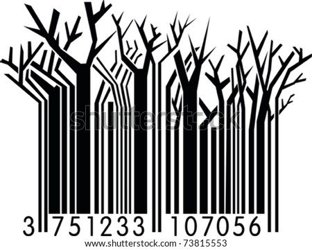 Winter Forest-Barcode