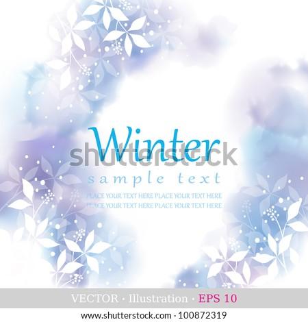 winter four seasons calendar
