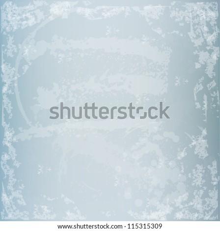 winter grunge texture vector...