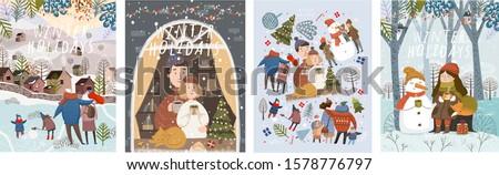 winter holidays  merry