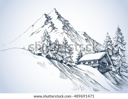 winter landscape in the