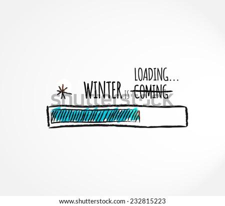 winter loading fun  progress