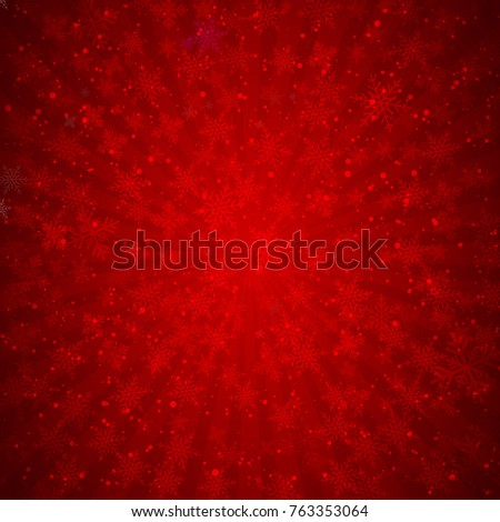 winter red background christmas
