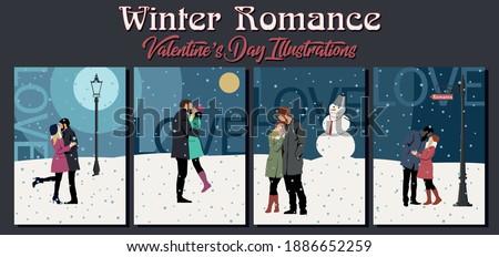 winter romance valentine's day