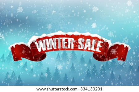 Winter Sale Banners Wedding Party Banners