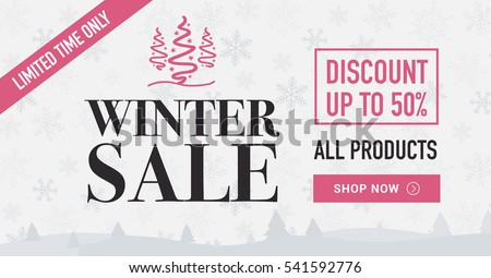 winter sale social network