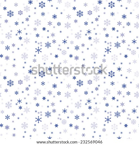 winter seamless texture with
