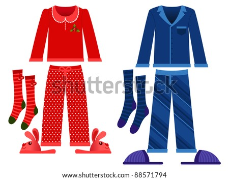 winter sleeping clothes