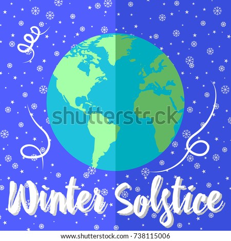 winter solstice  globes with