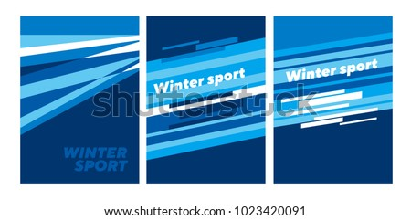winter sport abstract abstract