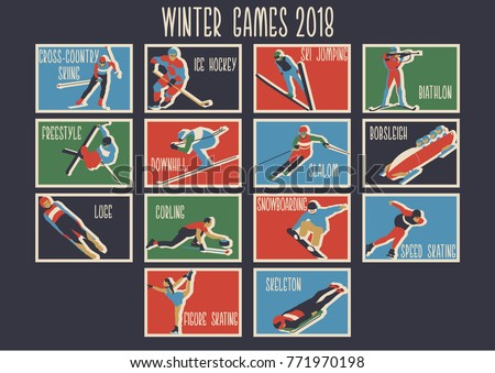 winter sport games 2018