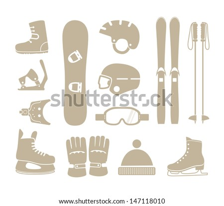 winter sports equipment