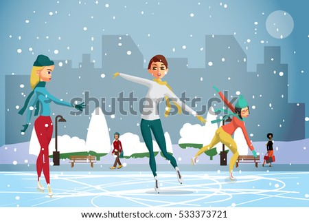 winter sports figures skating