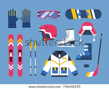 Winter Sports Illustrations