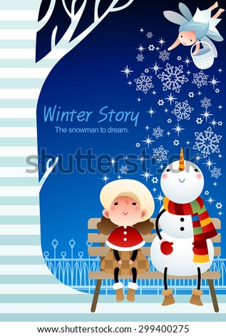 winter story   lovely young