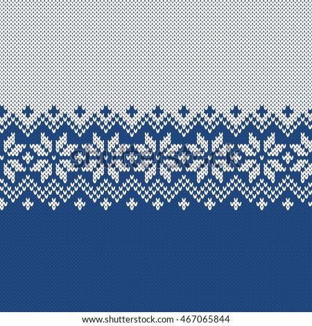 6da280249abb Winter Sweater Design. Fairisle Seamless Knitting Pattern