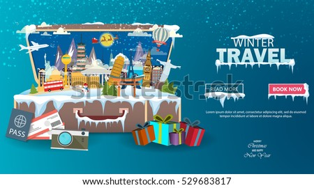 winter travel travel to world