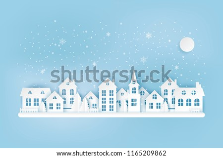 winter urban countryside