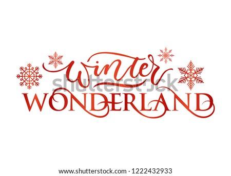 winter wonderland inspirational
