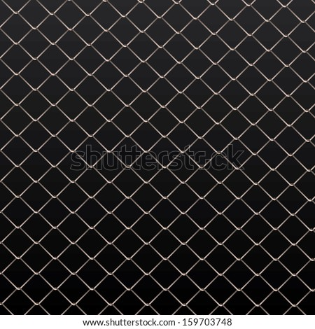 wire fence vector background