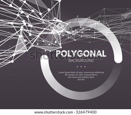 wire frame mesh polygonal