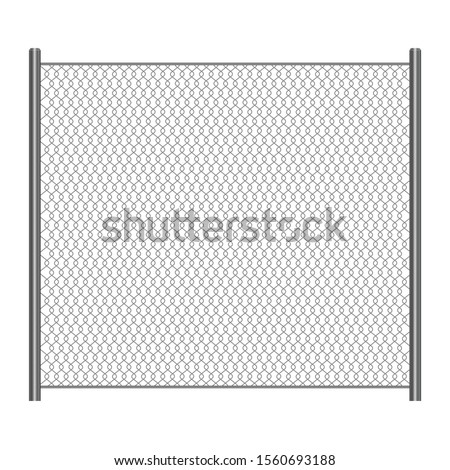 wire mesh fence vector design