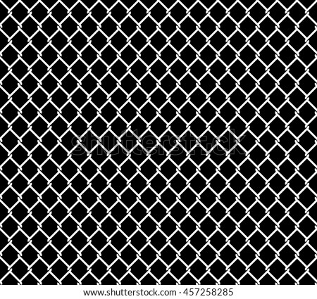 wired metallic fence seamless