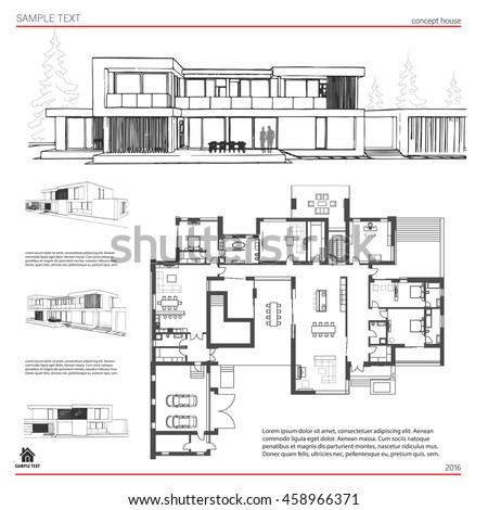 Architecture Drawing Template