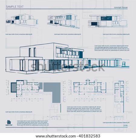 Architecture Template Vectors - Download Free Vector Art, Stock ...