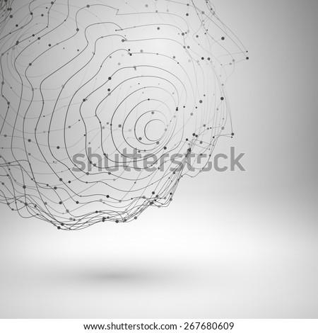 wireframe mesh element