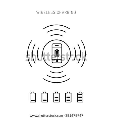 Wireless charging phones. Wireless charging phones outline. Wireless battery charge. Outline icon pone. Outline Wireless charging concept.