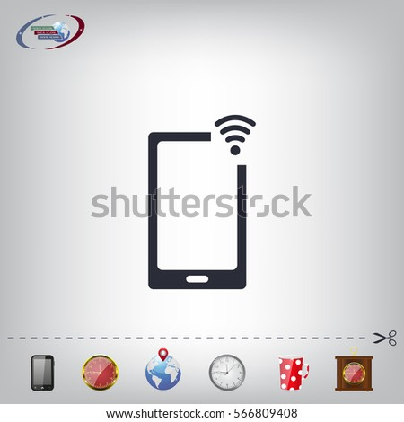 Wireless connectivity concept. Setting wifi connection.