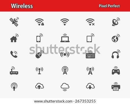 wireless icons professional