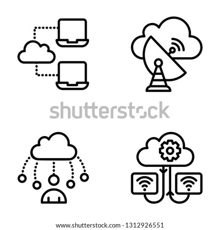 Wireless Internet Icons