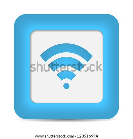 Wireless Network Symbol. vector