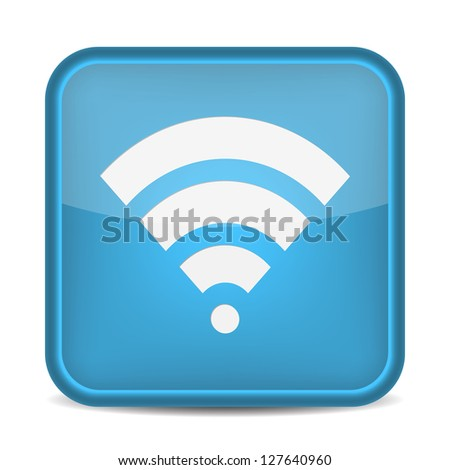 Wireless Network Symbol. vector