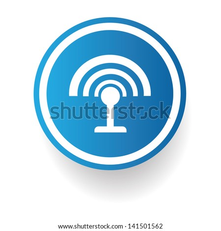 Wireless symbol,vector