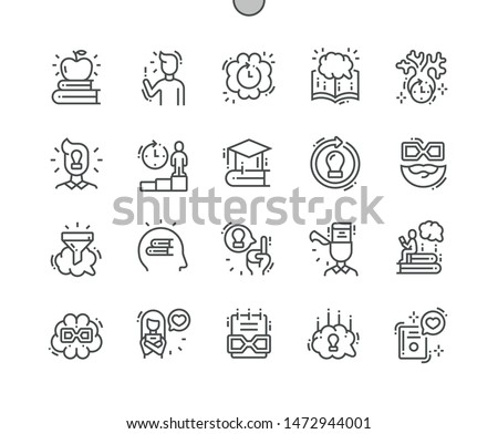 Wisdom Well-crafted Pixel Perfect Vector Thin Line Icons 30 2x Grid for Web Graphics and Apps. Simple Minimal Pictogram