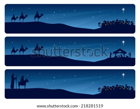 wise men and mary and joseph