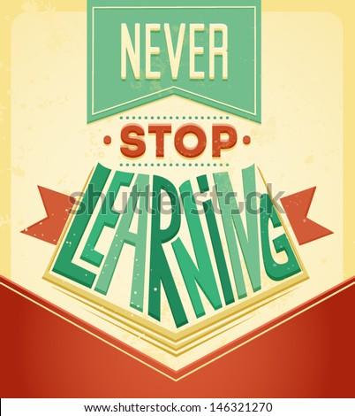 wise words vector typography