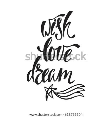 wish  love  dream