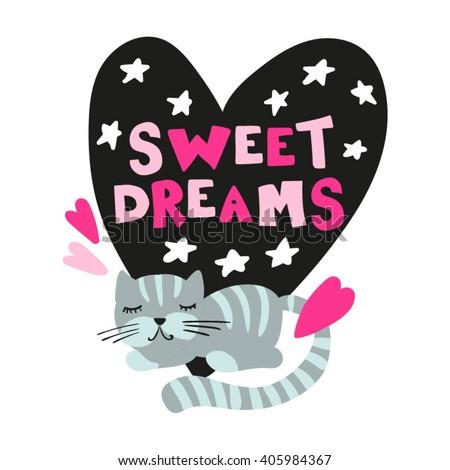 wishing sweet dreams card with